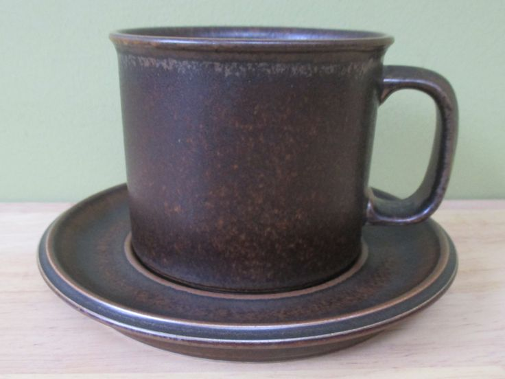 Ulla Procopé - Ruska - Arabia | mug & 7 best Dinnerware: Pottery Ruska images on Pinterest | Cutlery ...