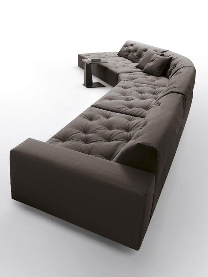 Contemporary Modular Sofa CHANCE By Marc Sadler Désirée