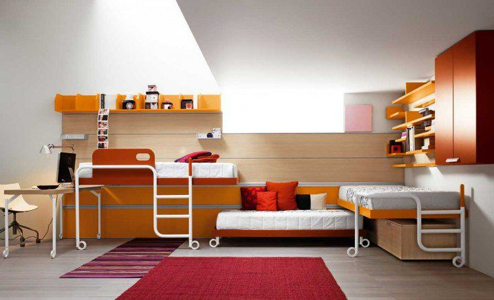 Awesome Bunk Bed Designs For Triplets - Top Dreamer
