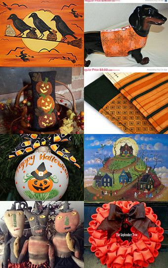 HALLOWEEN FRIGHT NIGHT by Maryann on Etsy--Pinned with TreasuryPin.com