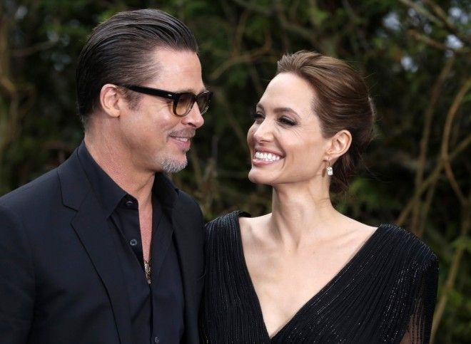 The Difference Between Brad Pitt and Angelina Jolie's First Post-Divorce Interviews - Hollywood Stars
