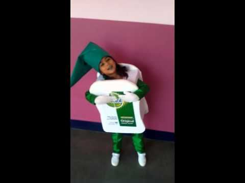 Dettol girl for fancy dress competition by Siyona Dey - YouTube