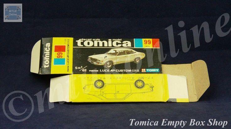 TOMICA 099B MAZDA LUCE AP CUSTOM | 1/62 | ORIGINAL BOX ONLY | 1976 - 1983 JAPAN