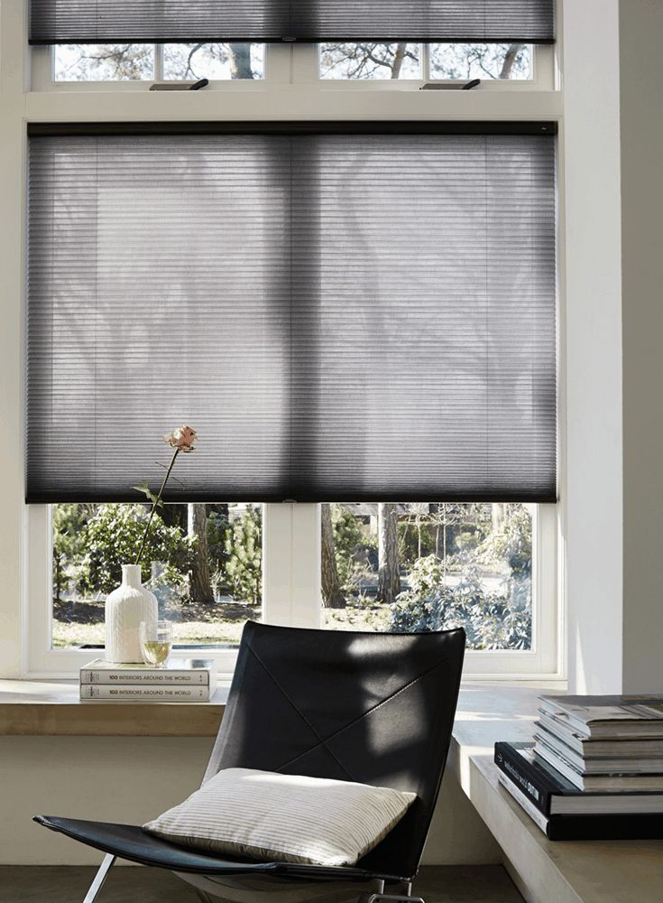 Duette® Shades from Luxaflex® are as beautifully stylish as they are energy-efficient. Choose from a range of designs, transparencies and colours with a unique honeycomb design that helps insulate your home all year round.