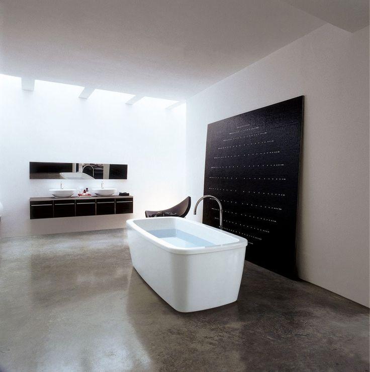 Pi di 25 fantastiche idee su rivestimento per vasca da bagno su pinterest portatubo da - Rivestimento vasca da bagno ...