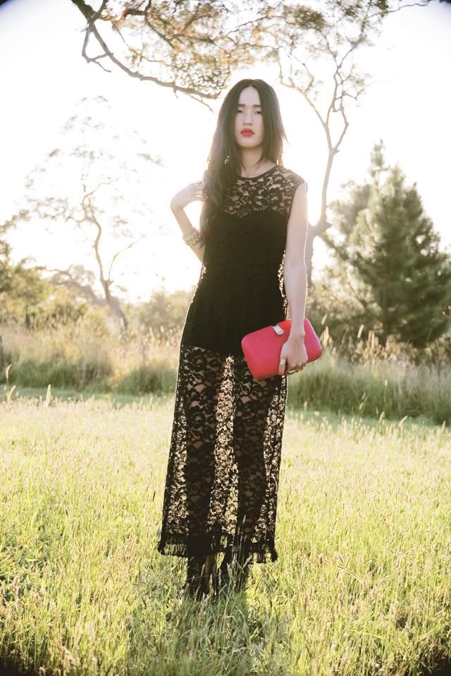 Gary PepperRed Vintage, Nicole Warning, Dresses Vintage, Gary Peppers, Sydney Australia, Dresses Red, Vintage Bags, Bags Reviews, Black Gary