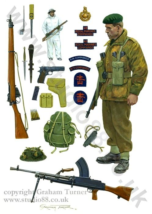British Commandos Second World War By Graham