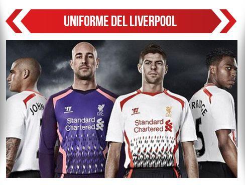 Críticas el nuevo uniforme del Liverpool
