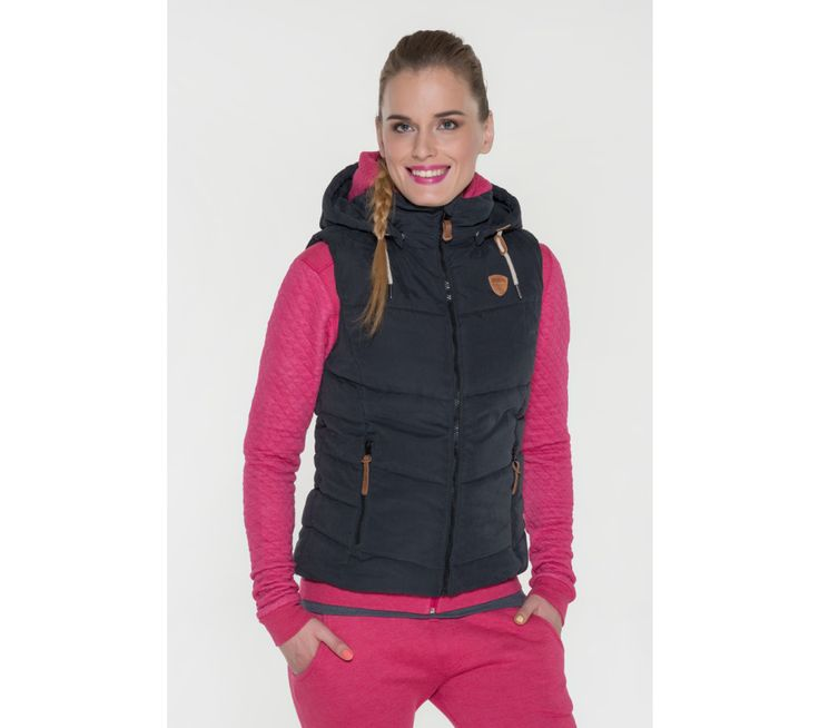Dámska vesta na zips Sam 73 | modino.sk #modino_sk #modino_style #style #fashion #lookbook