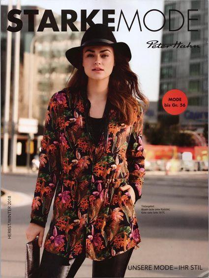 ff4e44d4ee1 Каталог одежды для полных девушек немецкого бренда Peter Hahn осень-зима  2018-19