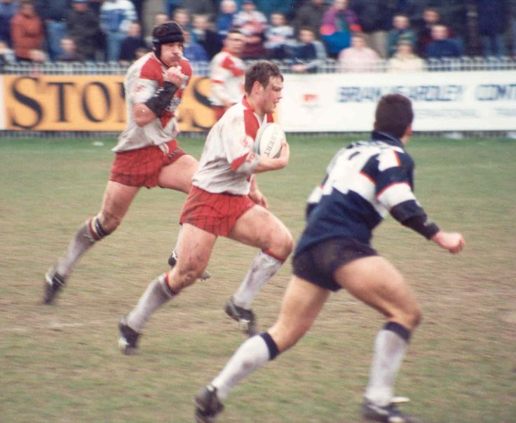 A young Keiron Cunningham makes another telling break