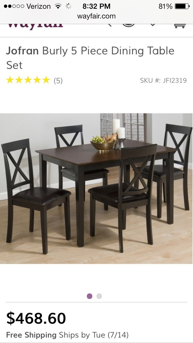 16 Best Wayfair Dining Sets Ideas, Wayfair Dining Room Table And Chairs