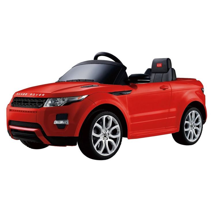 electric cars for kids to ride toddler toy riding range rover red remote control merske