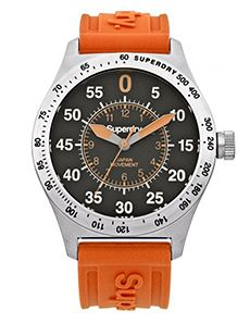 Buy Stylish Men's Superdry Watches online now at Oldrids  Downtown! http://www.oldrids.co.uk/Fashion_Access/Mens_Fashion/Superdry_Men_s_Compound_Sport_Watch_-_Orange/Product #superdry #fashion #mens