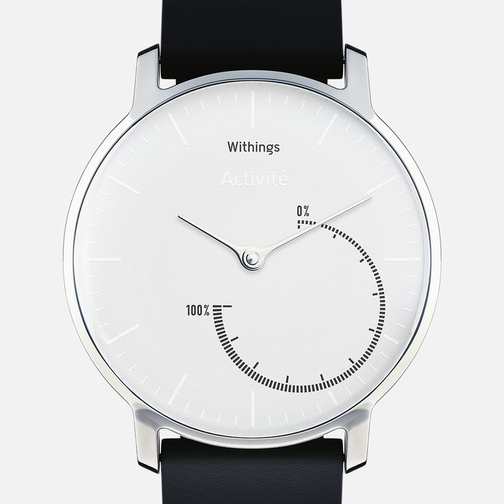 Withings Activité Steel - Automatic Fitness and Activity tracker