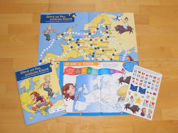 KOSTENLOS: Sophie und Paul entdecken Europa