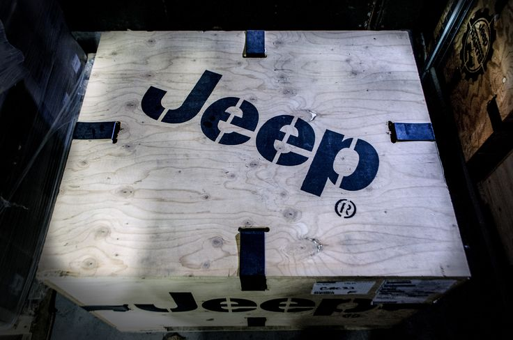 Jeep® Performance Parts Wood Crate