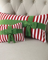 Garnet Hill holiday pillows...LOVE