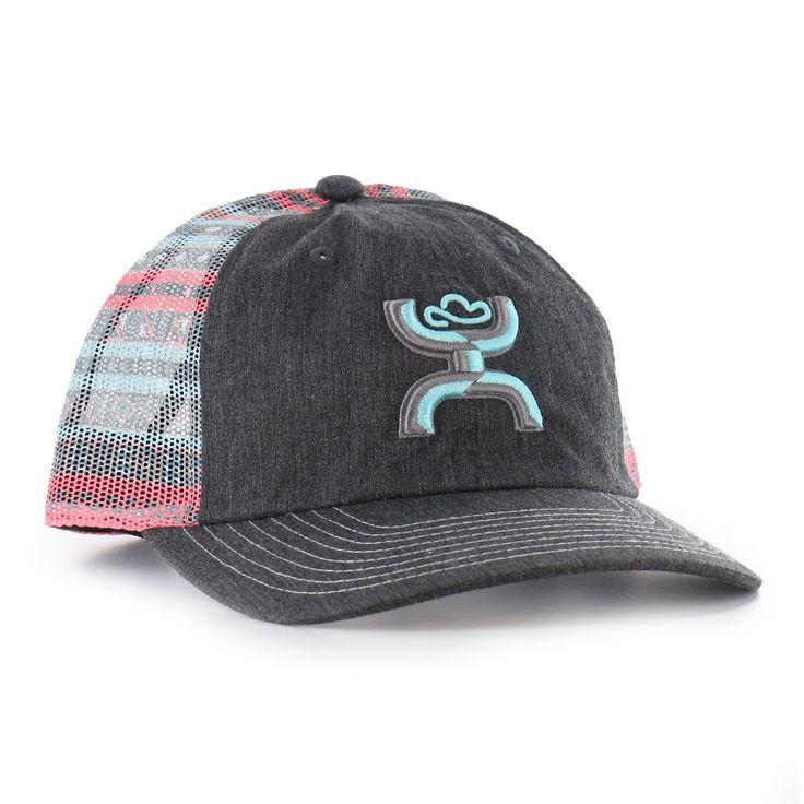 HOOey Women's Embroidered Logo Trucker Ball Cap