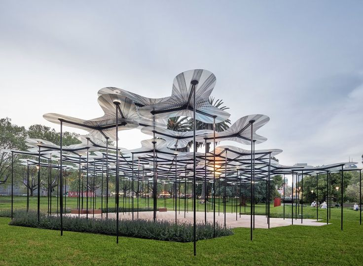 Amanda Levete Architects use Queensland resin and Finish carbon fibre for new forest canopy pavilion.