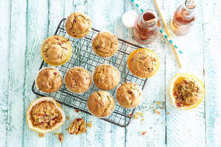 Ontbijten met muffins is al een feest, maar met deze groentemuffins helemaal.- Recept - Allerhande