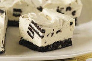 Oreo no-bake cheesecake...yummmmm!