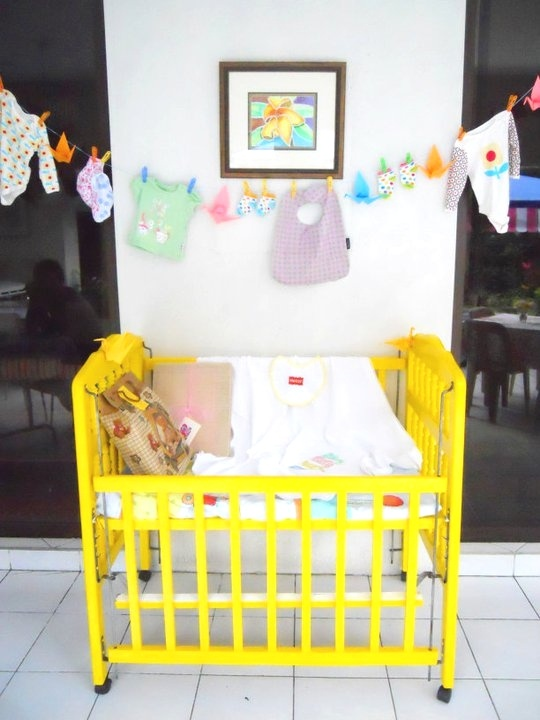 Cute and Functional Baby Shower Decor
