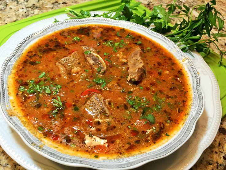 Необыкновенно вкусный суп ХАРЧО с ароматами грузинских трав и специй. Самый популярный и лучший суп Кавказской кухни. ОВОЩНОЙ СУП, наивкуснейший, витаминный ...