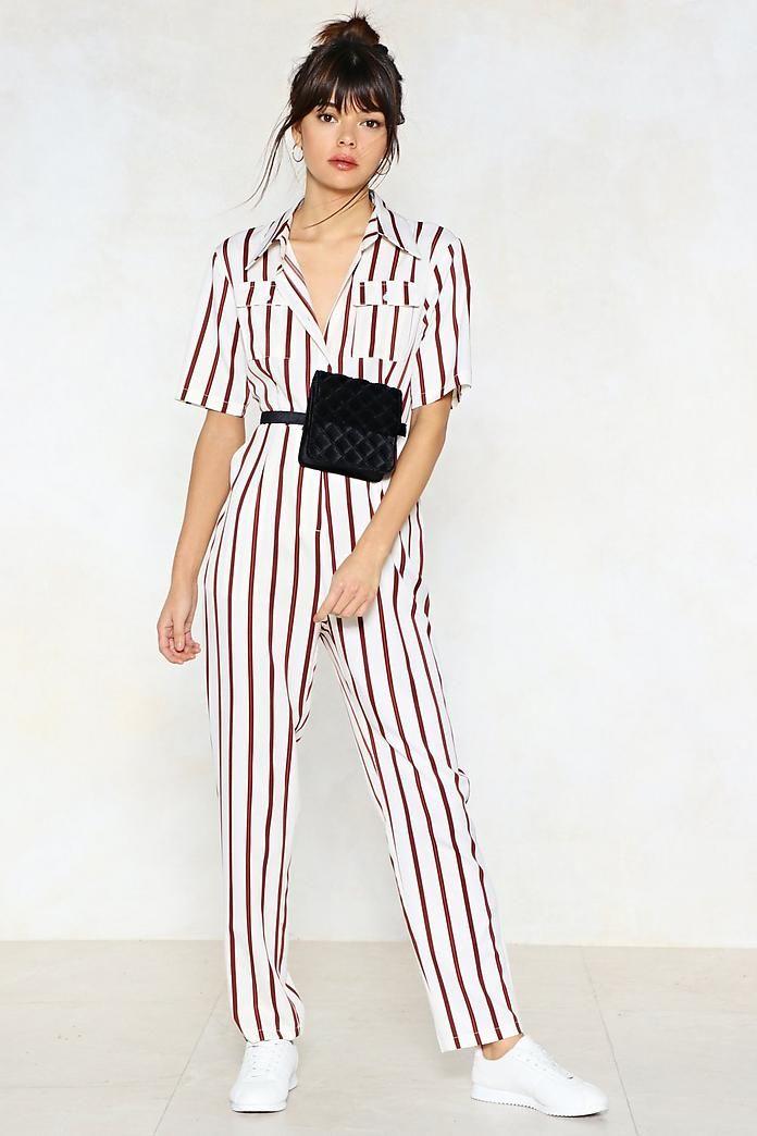 b1b2e4a10f9d You re Just My Stripe Utility Jumpsuit