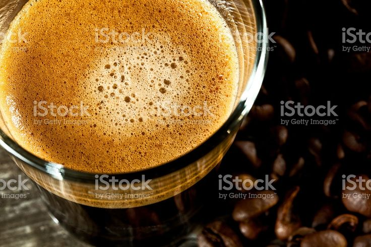 espresso and coffee grain royalty-free stock photo