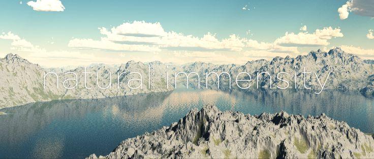 #Natural #Procedural #immensity #VUE3d #3d #MattePainting #Render