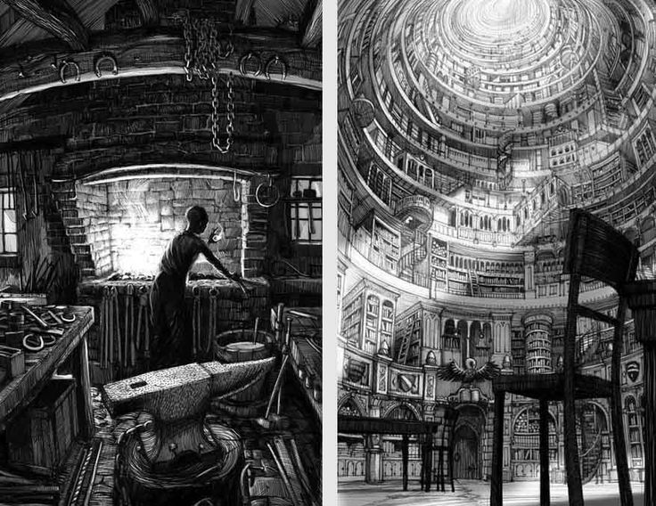 Picture Book Illustration Making An Architectural Model: 17 Best Images About Great Illustrators
