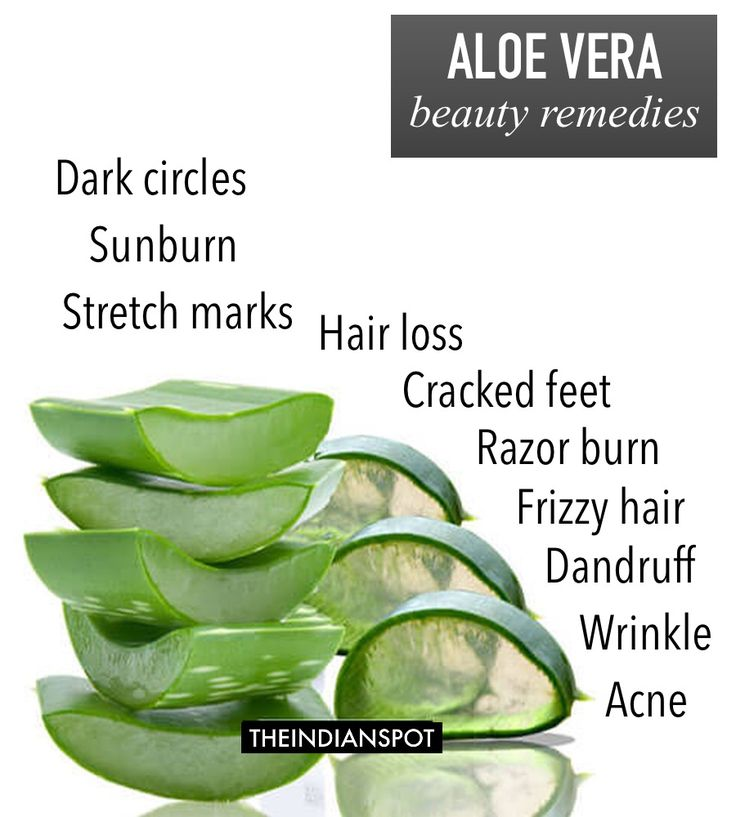 Aloe vera gel is a popular remedy used in herbal medicine. Pure Aloe Vera Gel is known world wide for its healing and soothing qualities for the skin. Regular use will help heal, soothe, cool and condition the skin and also moisturizes and helps maintain the healthy glow.  1. Sunburn Remedy: Grab an ice cube tray and fill it in with aloe gel and freeze. These aloe vera ice cubes are great after too much sun exposure, bug bites, poison ivy, and even psoriasis. They provide extra relief from…