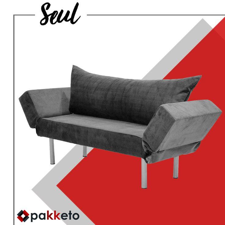 Ένας 2θέσιος καναπές-κρεβάτι που θα λατρέψουν οι επισκέπτες σας και σε τιμή.. που θα λατρέψετε εσείς! Αποκτήστε τον https://www.pakketo.com/seul-sofa-bed-angora-1589-bej