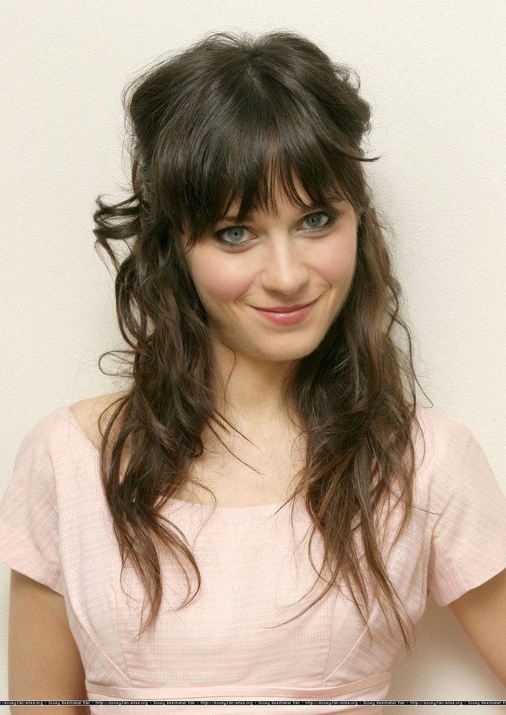 Zooey Deschanel. Her hair is sooo beautiful.
