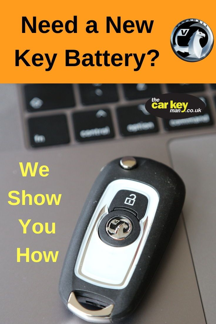 Vauxhall Astra K How To Change The Key Battery Key Vauxhall Astra New Car Key