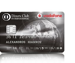Diners Club International Vodafone Prestige | Alpha Bank 361112