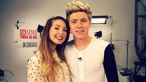 Niall and Zoella