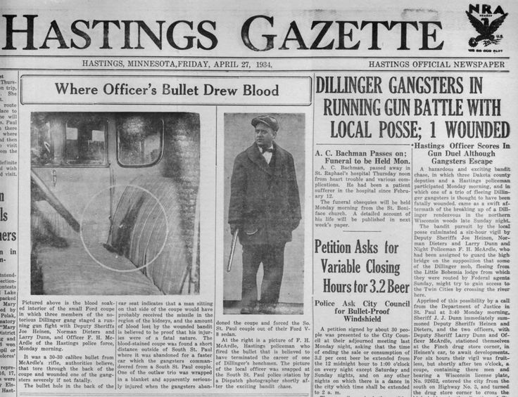 134 Best News Articles About 1920s And 30s Gangsters