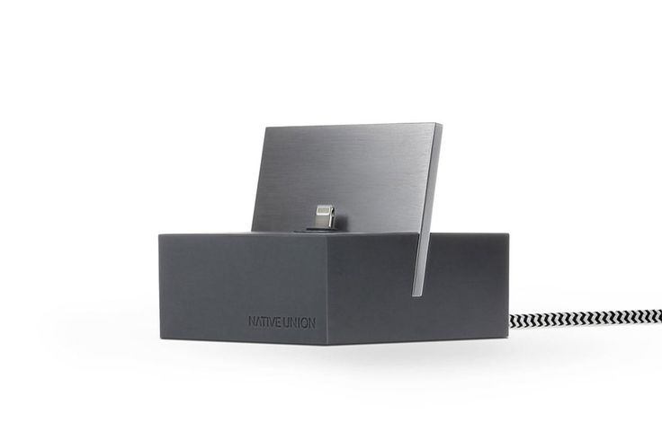 Dock+ Lightning in Slate-Space Gray at Native Union, $59.99                                                                                                                                    Native Union's offerings are on everyone's lips this season, and their Dock+Lightning charging docks—available for both Apple and Android products—are the brand's top-selling prize…