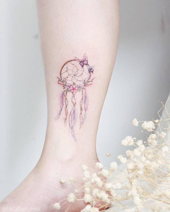 Gorgeous Dreamcatcher Tattoo