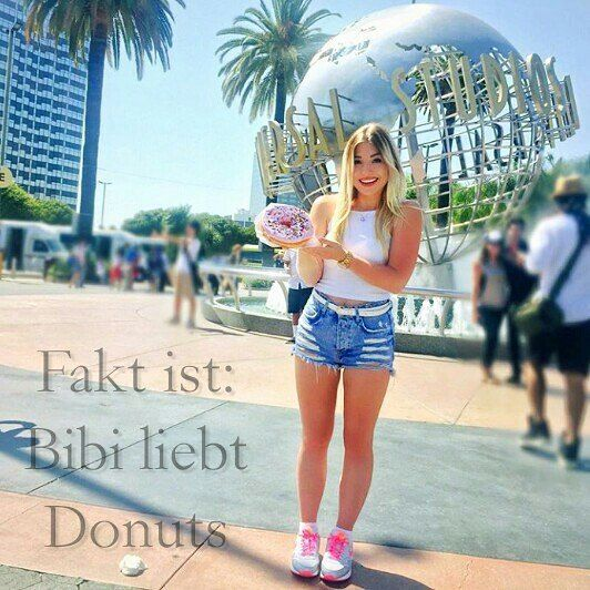 Bibi und Donuts... Love you Bibi @bibisbeautypalace @bibisbeautypalace by…