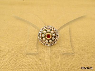 DOUBLE LAYERED ROUND BORDERED ANTIQUE...