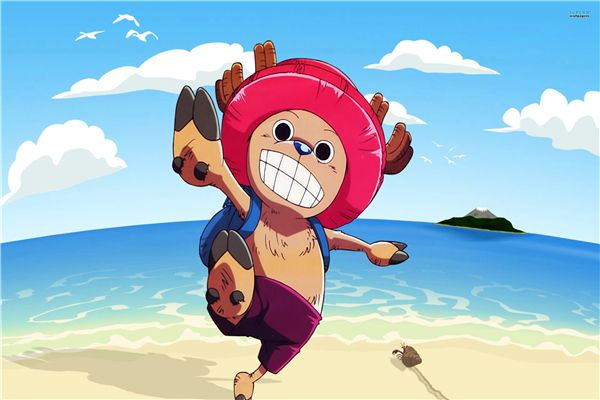 Custom Canvas Art One Piece Figure Poster One Piece Anime Wall Stickers Chopper Sticker Kids Wallpaper Home Decoration #1650#