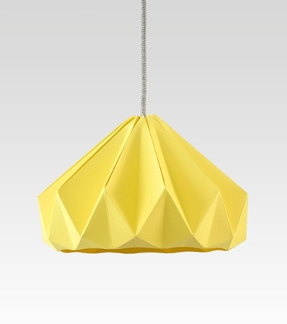 Snowpuppe | Great origami lamp design adamchristopherdesign.co.uk