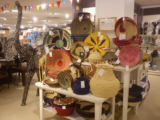 Look out for the Rwenzori Trading Company products in store. From#baskets to #vases we have it all. Buy a Rwenzori Trading Company product and you will be helping to support people in 12 Ugandan communities. For more information on #TKMaxx's charity work with the Rwenzori project in #Uganda click the image.