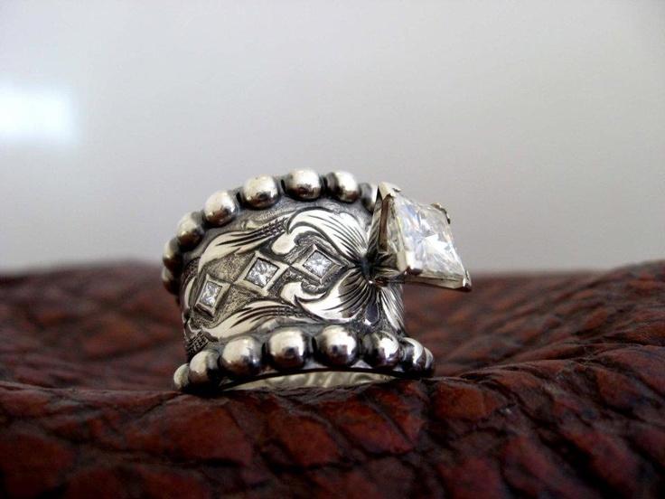 travis stringer western wedding rings - Country Wedding Rings