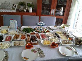 KAHVALTI DAVETİ-KAHVALTI SOFRASI    Bu pazar görümcem Ayşe'nin pazar kahvaltısına katıldık.Benim en sevdiğim öğün kahvaltıdır, hazırlama...