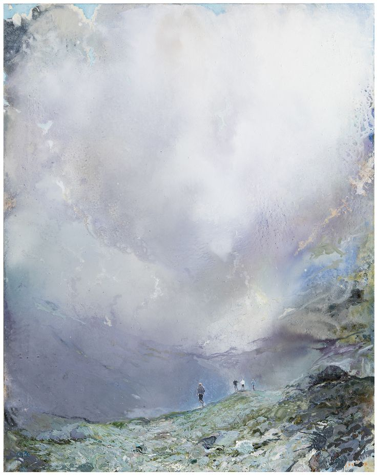 Tuomo Saali, Change in the Weather, oil on canvas, 2017, 125x100cm