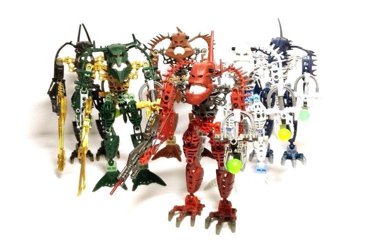 LEGO Bionicle Piraka Complete Set (8900, 8901, 8902, 8903, 8904, 8905) Canisters  | eBay